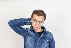 Retrato del adolescente lindo Foto de archivo libre de regalías