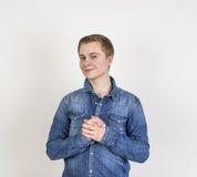 Retrato del adolescente lindo Imagen de archivo libre de regalías