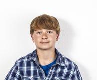 Retrato del adolescente lindo Imagen de archivo