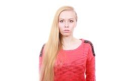 Retrato del adolescente rubio, encantador Imagen de archivo