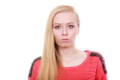 Retrato del adolescente rubio, encantador Fotografía de archivo libre de regalías