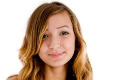 Retrato del adolescente sonriente Imágenes de archivo libres de regalías