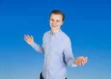 Retrato del adolescente sonriente lindo Imagen de archivo