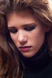 Retrato del adolescente triste hermoso Imágenes de archivo libres de regalías