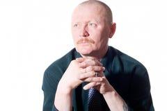 Retrato del adulto masculino Foto de archivo libre de regalías