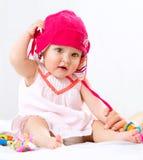 Retrato del bebé Imagen de archivo