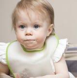 Retrato del bebé de 1 año Fotografía de archivo libre de regalías