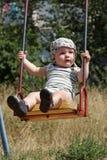 Retrato del bebé de balanceo Fotos de archivo libres de regalías