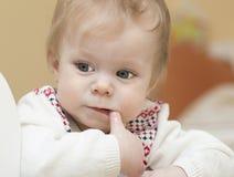 Retrato del bebé de 9 meses. Imágenes de archivo libres de regalías