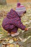 Retrato del bebé hermoso Imágenes de archivo libres de regalías