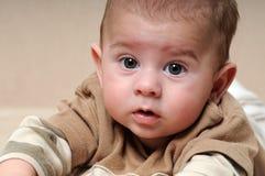 Retrato del bebé lindo Fotos de archivo