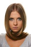 Retrato del blonde Imagen de archivo libre de regalías