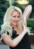 Retrato del blonde Fotografía de archivo libre de regalías