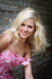 Retrato del blonde Fotografía de archivo