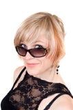 Retrato del blonde de la belleza imágenes de archivo libres de regalías