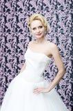 Retrato del blonde de la novia Foto de archivo