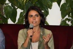 18/10/2014 retrato del bonafe del simona del lecce Imágenes de archivo libres de regalías