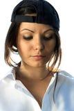 Retrato del brunette Foto de archivo libre de regalías
