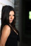 Retrato del brunette Foto de archivo