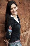 Retrato del brunette joven Foto de archivo libre de regalías