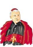 Retrato del cardenal Imagen de archivo libre de regalías