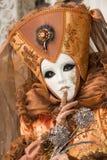 Retrato del carnaval Foto de archivo libre de regalías