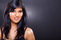 Mujer india hermosa fotografía de archivo