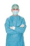 Retrato del cirujano de sexo masculino maduro Foto de archivo libre de regalías