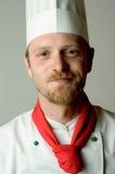 Retrato del cocinero Fotografía de archivo libre de regalías