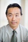 Retrato del especialista confiado del cáncer foto de archivo libre de regalías
