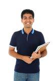 Retrato del estudiante indio Imagen de archivo libre de regalías