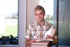 Retrato del estudiante masculino Imágenes de archivo libres de regalías