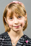 Retrato del estudio de la muchacha hermosa joven Fotografía de archivo