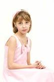 Retrato del estudio de la muchacha hermosa joven Fotografía de archivo libre de regalías