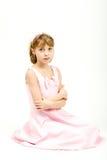 Retrato del estudio de la muchacha hermosa joven Fotos de archivo
