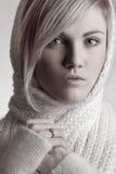 Retrato del estudio de la mujer joven Fotografía de archivo libre de regalías