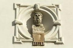 Retrato del filósofo griego Platon Imagenes de archivo