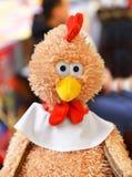 Retrato del gallo Juguete de la Navidad Foto de archivo