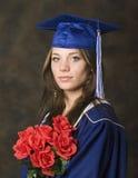 Retrato del graduado Imagen de archivo libre de regalías