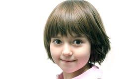 retrato del Hola-clave de la muchacha Imagenes de archivo