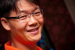 Retrato del hombre asiático Fotografía de archivo