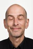 Retrato del hombre caucásico adulto maduro Imágenes de archivo libres de regalías