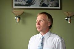 Retrato del hombre de negocios Fotografía de archivo