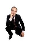 Retrato del hombre de negocios Foto de archivo libre de regalías