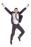 Retrato del hombre de negocios acertado imagen de archivo libre de regalías
