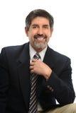 Retrato del hombre de negocios hispánico Foto de archivo