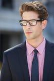 Retrato del hombre de negocios Outside Office Imagen de archivo