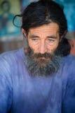 retrato del hombre del vagabundo fotos de archivo libres de regalías