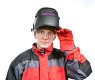 Hombre en ropa de funcionamiento foto de archivo