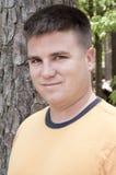 Retrato del hombre hermoso del caucásico del Twentysomething Foto de archivo